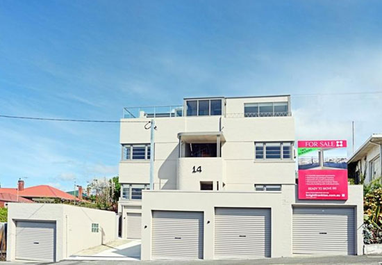 On the market: One-bedroom art deco apartment in West Hobart, Tasmania, Australia