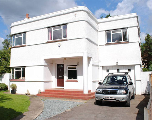 On the market: Four-bedroomed 1930s art deco house in Eastway, Epsom, Surrey