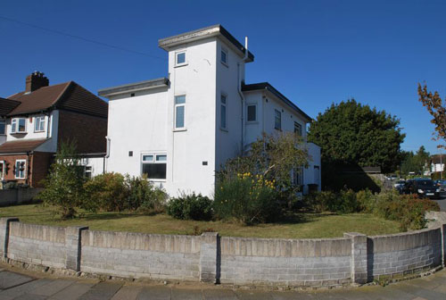 1930s art deco four-bedroomed house in New Malden, Surrey