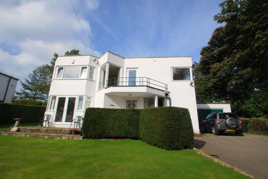 Four-bedroom 1930s art deco house in South Crosland, near Huddersfield, West Yorkshire