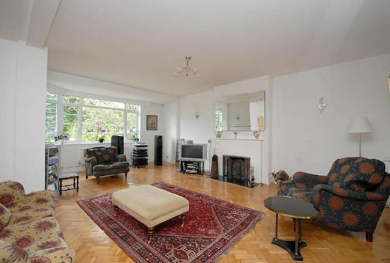 Four-bedroom 1920s art deco semi-detached property in Tulse Hill, London SW2