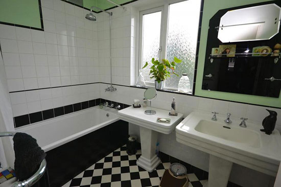 Three-bedroom 1930s art deco property in Gidea Park, Romford, Essex