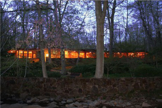 On the market: 1950s Frank Lloyd Wright-designed Dudley Spencer House in Wilmington, Delaware, USA
