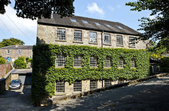 Renovated 19th century mill in Wirksworth, Peak District, Derbyshire