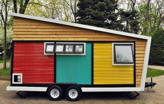 Mobile living: Toy Box Tiny Home