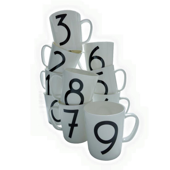 Isokon Gallery Mugs by Skandium