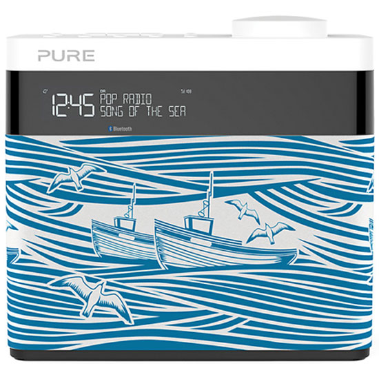 Mini Moderns x Pure Pop Bluetooth digital radio