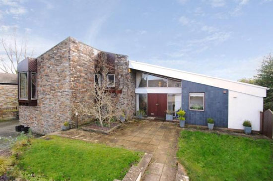 1970s architect-designed property in Bideford, Devon