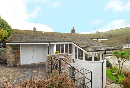 On the market: 1960s three-bedroom waterfront property in Newton Ferrers, South Devon