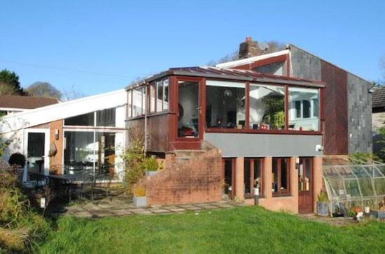 1970s architect-designed property in Bideford, Devon