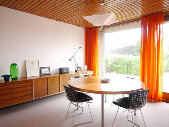 1960s Thomas Glyn Jones and John R Evans-designed modernist property in Dinas Powys, South Wales