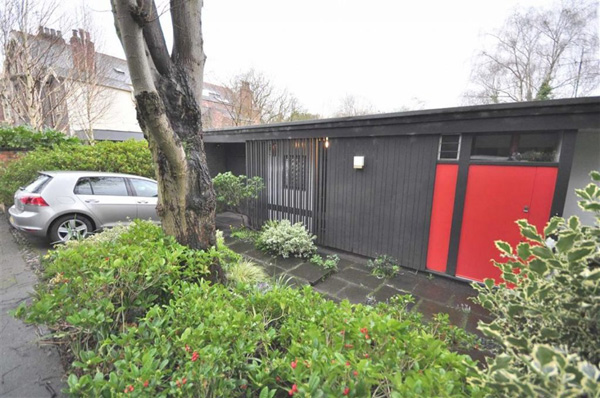 Grade II-listed modernism: 1960s John Parkinson Whittle-designed property in Didsbury, Greater Manchester