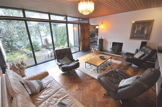 Grade II-listed modernism: 1960s John Parkinson Whittle-designed modernist property in Didsbury, Greater Manchester