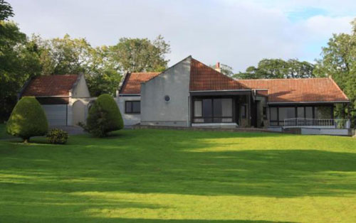 On the market: 1970s Polmonte architect-designed single-storey house in Dingwall, Scotland