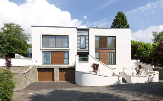 On the market: Yeoman McAllister-designed Thornbank View in Dollar, Clackmannanshire, Scotland