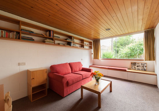 Peter Aldington-designed 1960s grade II-listed modernist property in Bessacarr, near Doncaster, South Yorkshire