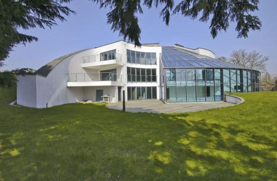 Architect-designed five bedroom contemporary modernist property in Avon Castle, Dorset