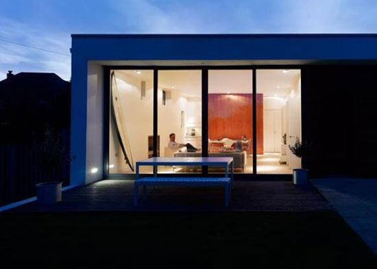 Three-bedroom single-storey modernist property in Poole, Dorset