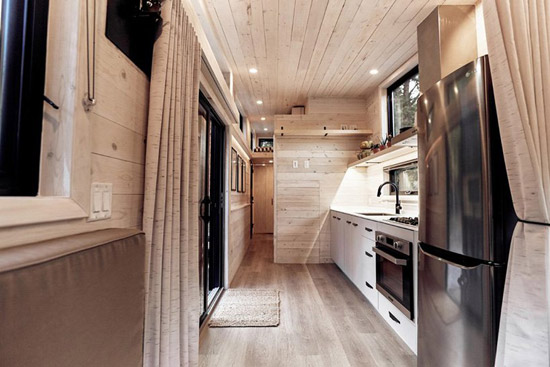 Draper midcentury modern mobile home by Land Ark