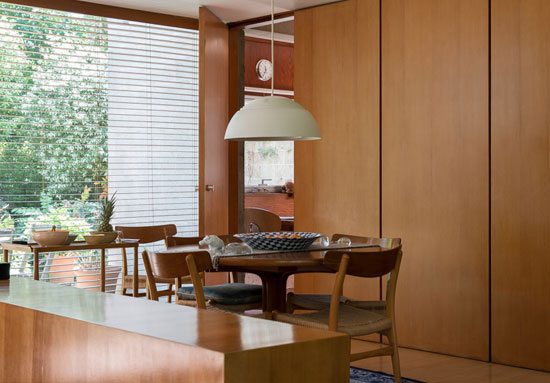 1960s grade II-listed Sir Philip Dowson-designed modernist property in London SW20