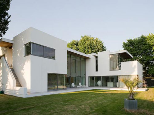 On the market: The Droveway modernist five-bedroomed house in Hove, East Sussex
