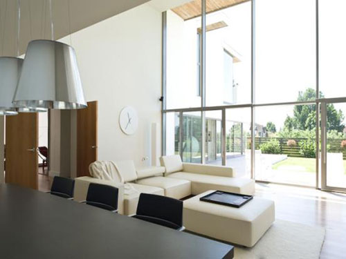 The Droveway modernist five-bedroomed house in Hove, East Sussex