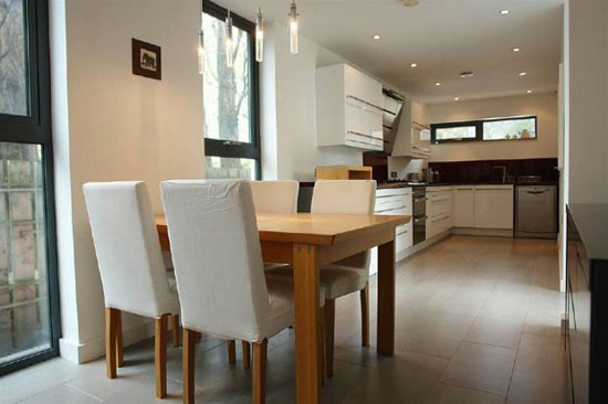 Three-bedroom contemporary modernist property in Droylsden, Manchester