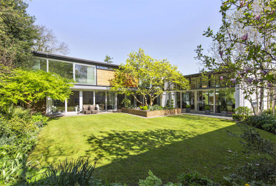 On the market: Drum House contemporary modernist property in Richmond, Surrey