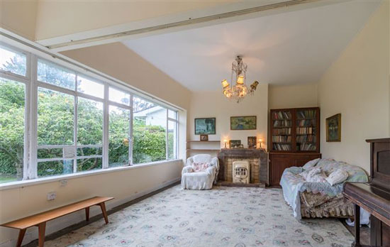 In need of renovation: Art deco property in Foxrock, Dublin, Ireland