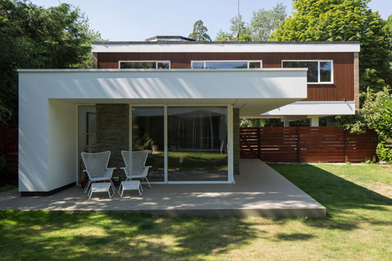 1960s modernism: Clear Architects-designed property in Roydon, Essex
