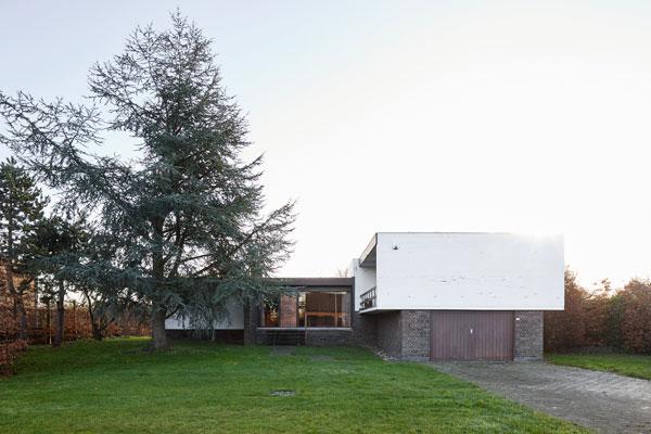 1970s E. Spiessens modern house in Duffel, Belgium