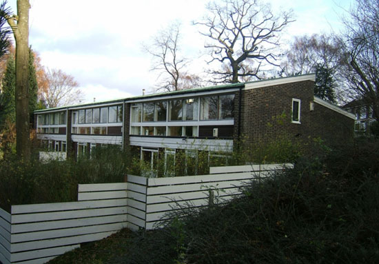 On the market: 1960s Malcolm Pringle-designed four-bedroom house on Peckarman's Wood, Dulwich, London SE26