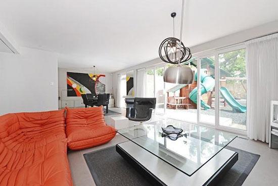 On the market: 1960s Manfred Bresgen-designed modernist property in Dulwich, London SE21