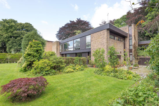 On the market: 1960s James Reginald Parr-designed modernist property in Broughty Ferry, near Dundee, Scotland