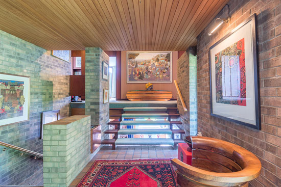 1960s James Reginald Parr-designed modernist property in Broughty Ferry, near Dundee, Scotland