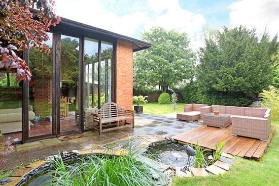 1950s Robert Townsend-designed Garden Ground property in Salisbury, Wiltshire