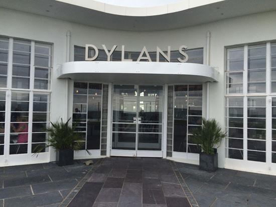Dylan's restaurant in Criccieth, Gwynedd, North Wales
