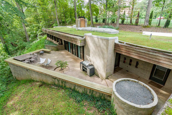On the market: 1970s Donald Reed Chandler-designed underground property in McLean, Virginia, USA