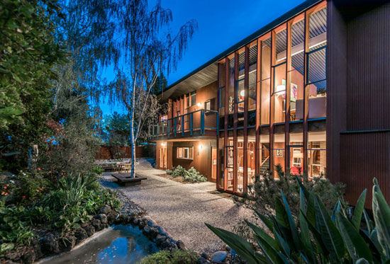 On the market: 1950s split-level Eichler home in Portola Valley, California, USA