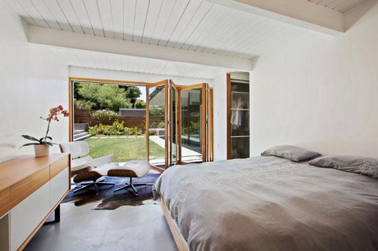 Updated 1950s Eichler house in San Rafael, California, USA