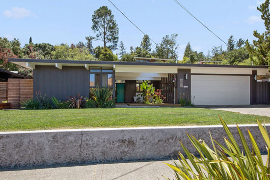On the market: Updated 1950s Eichler house in San Rafael, California, USA