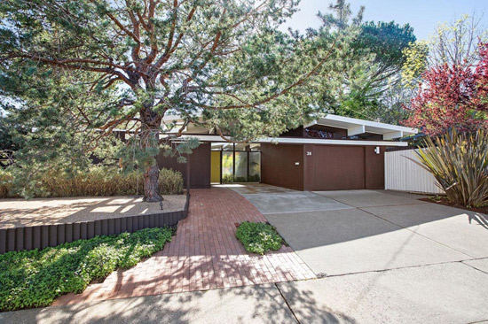 On the market: 1960s midcentury modern Eichler property in San Rafael, California, USA