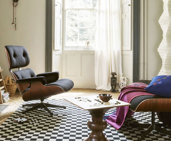 Vitra introduces the 60th anniversary special edition Eames Lounge Chair