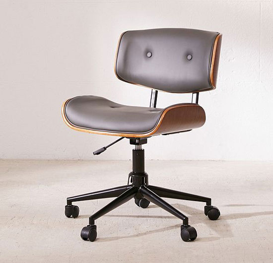 Eames-style Lombardi desk chair at Urban Outfitters