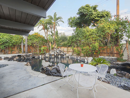 1960s midcentury Eichler property in Orange, California, USA