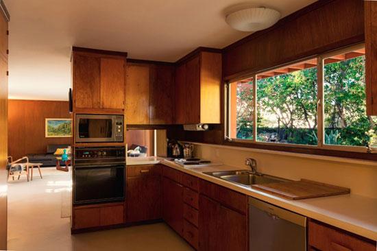 1950s split-level Eichler home in Portola Valley, California, USA