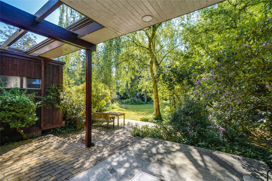 Eric Lyons Mill House and midcentury studio in East Molesey, Surrey