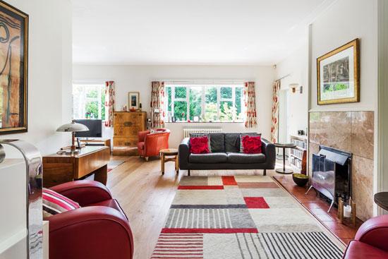 1930s P.D. Hepworth modern house in East Grinstead, West Sussex