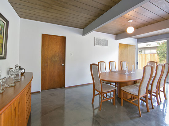 1960s midcentury Eichler property in Orange, California, USA
