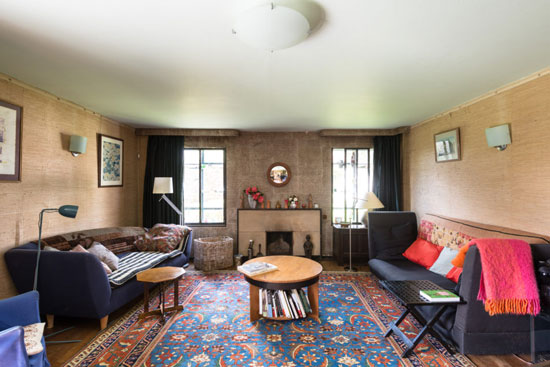 Grade II-listed art deco: 1930s Messrs Joseph and Sir Owen Williams-designed property in Great Easton, Essex